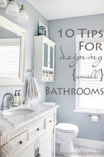 10 Tips For Designing 10 tips for designing a small bathroom