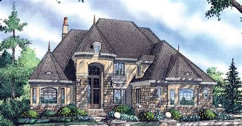 eplans chateau house plan old world grace 5235 square chateau house plan with 3818 square feet and 5 bedrooms from dream home source house plan code