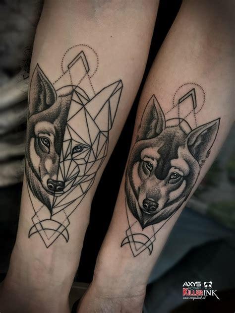 1001 ideas de tatuajes de lobos diferentes dise 241 os y