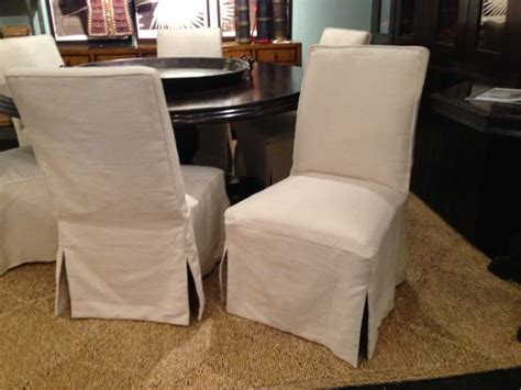 Slipcovered Dining Chairs Slipcovered Dining Chair Rolling Chair On Wheels