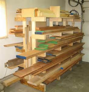 finished lumber rack pics