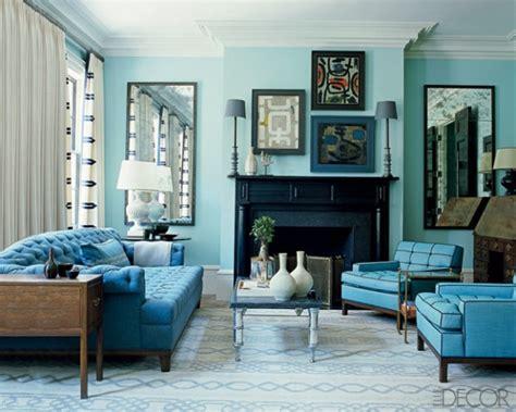 kleurinspiratie bruin en blauw woontrendz