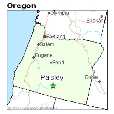 paisley oregon map best places to live in paisley oregon