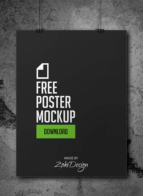 design mockups online free free poster mock up zokidesign