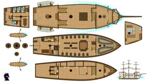 pirate ship floor plan man of war pirate ships pirate ship map ship floor
