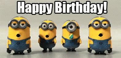 birthday gif minions birthday gif birthday happybirthday gif discover gifs