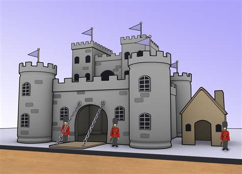 ways to make homes and towns more age friendly make a model castle castles models and craft