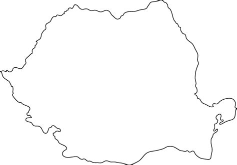 Country Outline by Romania Outline Pictures To Pin On Pinsdaddy
