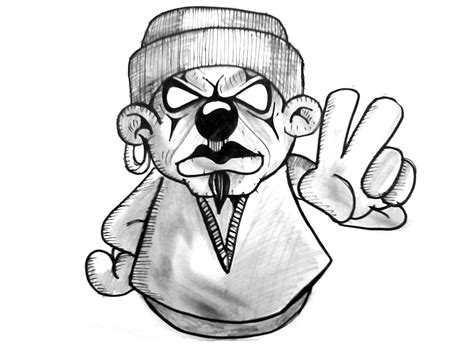 gangster drawing pictures  getdrawingscom