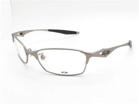 Promo Kacamata Frame Oakley Bracket Silver Merah oakley prescription eyewear titanium