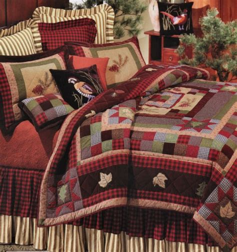 pine valley quilt and lodge bedding