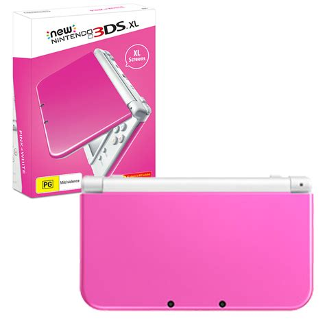 nintendo 3ds xl console new nintendo 3ds xl console pink white the gamesmen