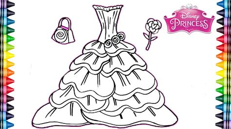 imagenes de vestidos faciles para dibujar como dibujar y colorear un vestido arco iris dibujos
