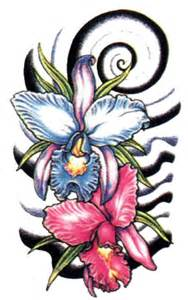hawaiian flower tattoos high quality photos and flash