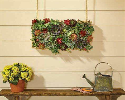 Vertical Garden Planters Home Depot Arrow Vertical Succulent Planter Tool Belt