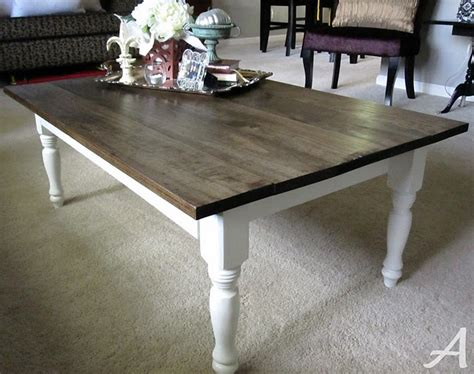 diy stained coffee table for the home