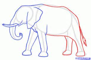 how to draw a doodle elephant how to draw elephants step by step safari animals