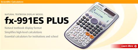 Casio Fx 991es Plus Scientific Kalkulator 2b9k calculators professional calculators scientific calculators casio worldwide
