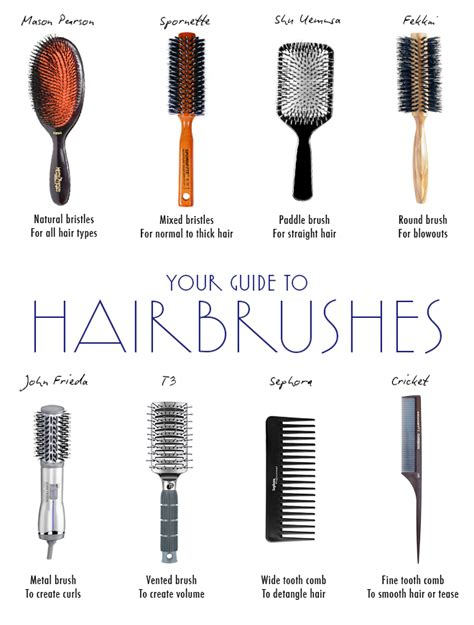 Hair Brush Types the best hair brush for every hair type daily makeover