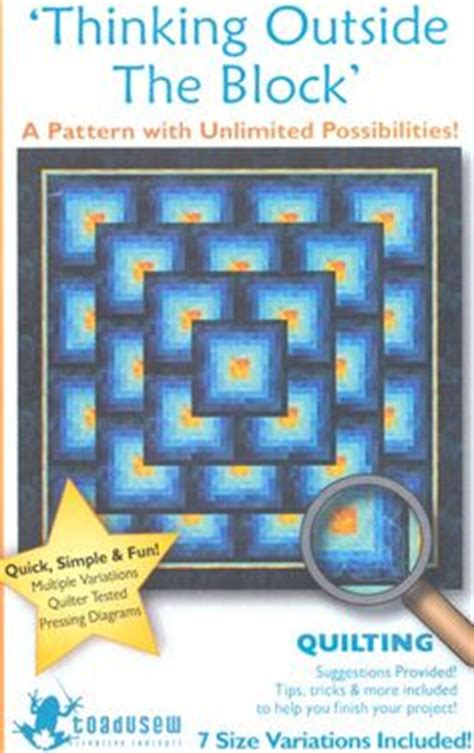 Thinking Outside The Box Quilt Free Pattern by Thinking Outside The Box Pattern Quilts Tutorials