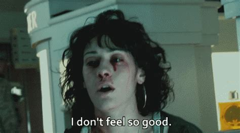 Im To See Cloverfield by Lizzy Caplan Blood Gif Find On Giphy