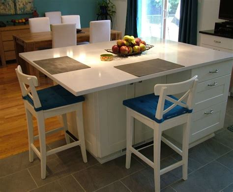 modern kitchen islands with seating best 25 kitchen island dimensions ideas on