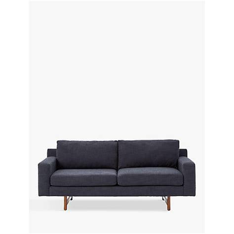 eddy sofa elm review buy elm eddy large 3 seater sofa lewis