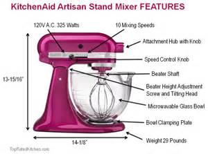 5 Quart Artisan Kitchenaid Stand Mixer Makes a Statement