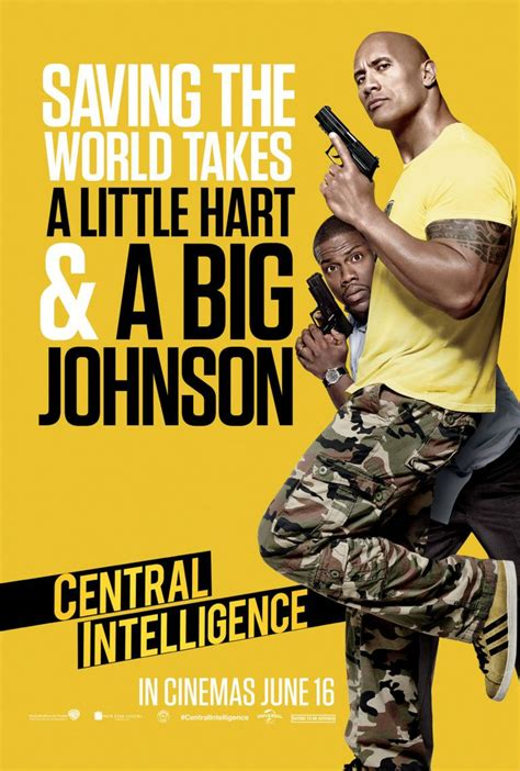 central intelligence review  reviews  posters pinterest