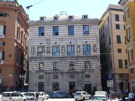 banco di serdegna world travel images genova city center town