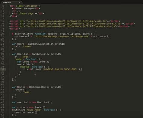 tutorial video js backbone js for beginners best videos learning materials