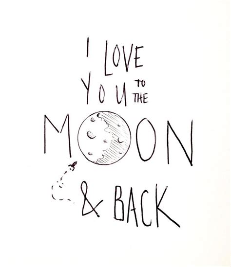 i love you to the moon and back tattoos i you to the moon and back quotes
