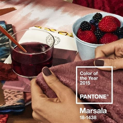 pantone 2015 color of the year color trends 2015 pantone names marsala color of 2015