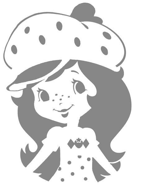 printable disney jack o lantern patterns strawberry shortcake pumpkin carving stencil the buell