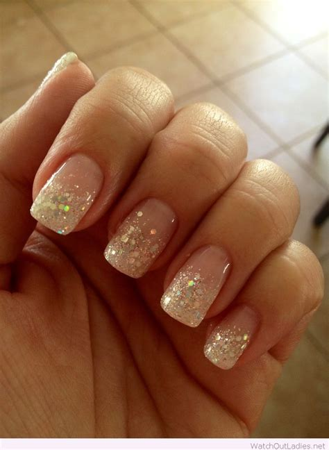 Manicure Nail Designs by 25 Best Ideas About Glitter Manicure On