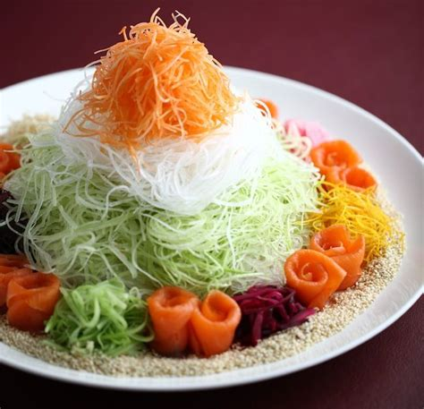 new year foods and significance fs taste beijing yu sheng goodies to eat pretty to see