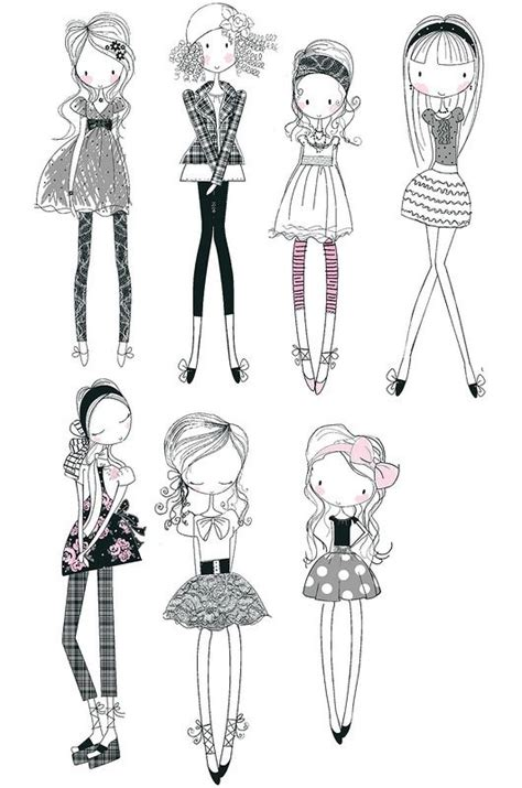 doodle design draw fashion 1252 best coloring at any age images on