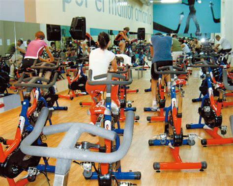 Holiday gym madrid spain bh fitness treadmill bike indoor cycling steeper rower cardio
