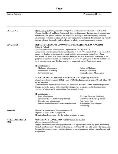 simple resume writing templates resume sle 001r6 home help with resume