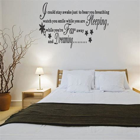 wall decals bedroom master master bedroom wall decals ideas home designs and