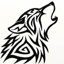 Easy Tribal Wolf Drawings A Hero Is One Who Knows How To Hang On  sketch template
