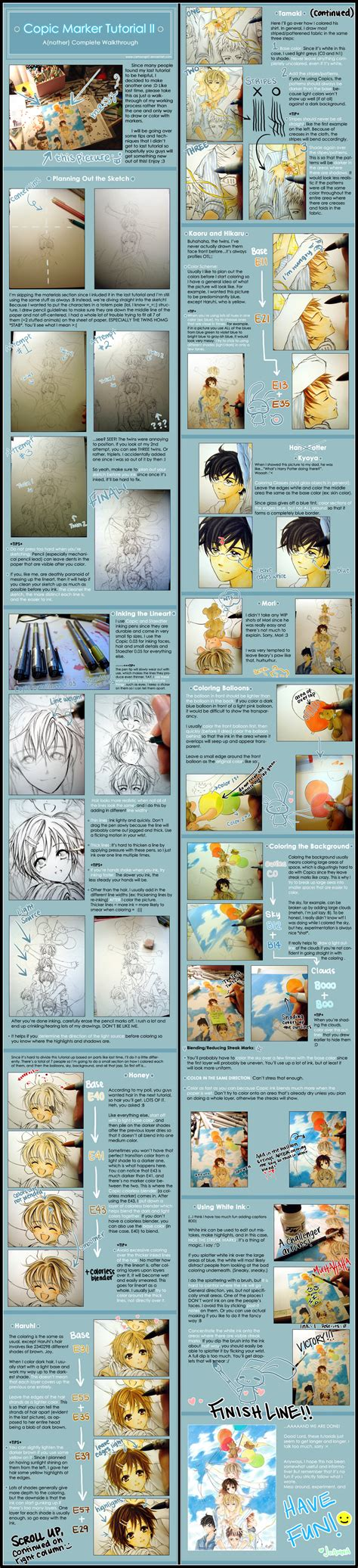 www tutorial copic marker tutorial ii by cartoongirl7 on deviantart
