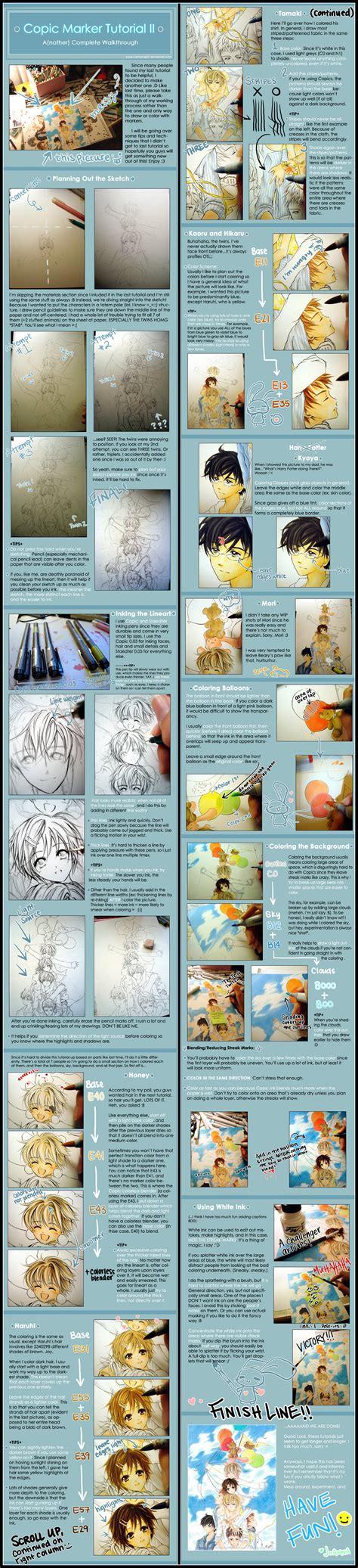 www tutorial copic marker tutorial ii by cartoongirl7 on deviantart