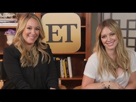 Haylie Duff Vs by Hilary Haylie Duff Some Sisterly Advice For Kendall