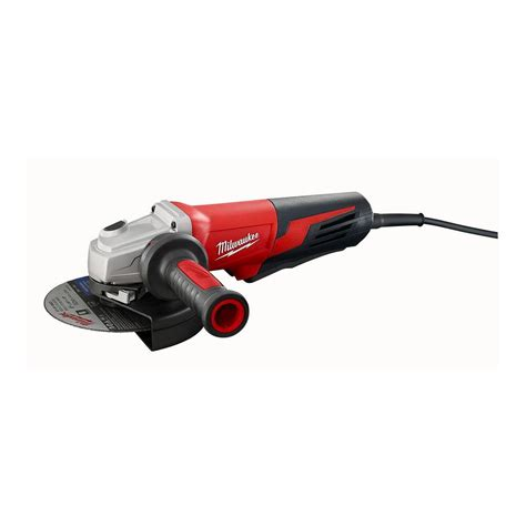 Milwaukee 13 Amp 6 in. Small Angle Grinder with Paddle Switch 6161 31   The Home Depot