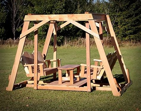 double glider swing with canopy how to build a double glider swing woodworking projects