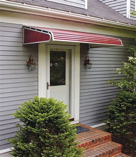House Awnings Aluminum by Awning Metal Awnings For Home