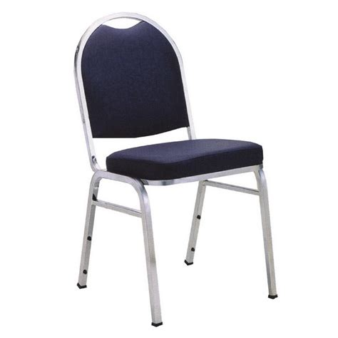 Stack Chair by Kfi Seating 1530 Armless Padded Stack Chair Designer Fabric