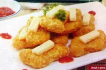 cara membuat nugget ayam tanpa roti tawar resep resep nugget ayam keju