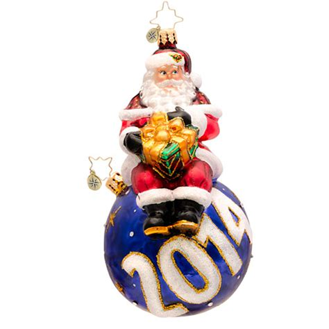christopher radko ornaments 2014 radko dated a year for